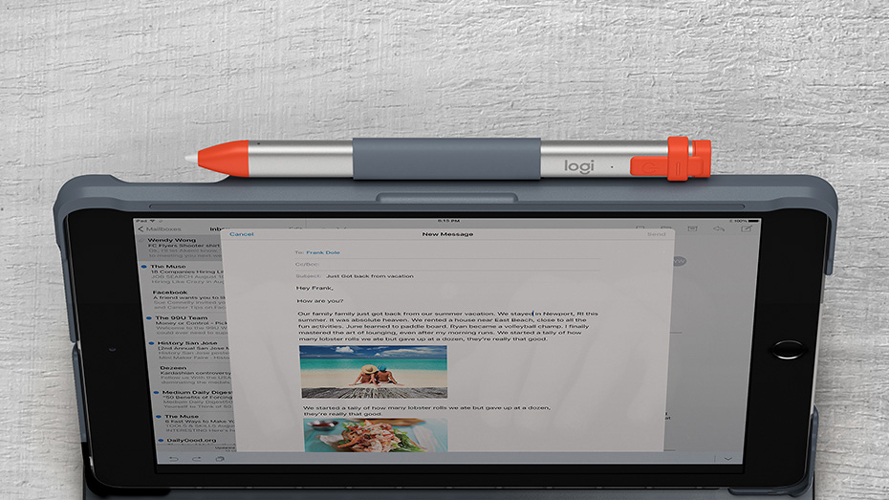 Logitech SLIM FOLIO FOR iPad (5TH AND 6TH GENERATION)
