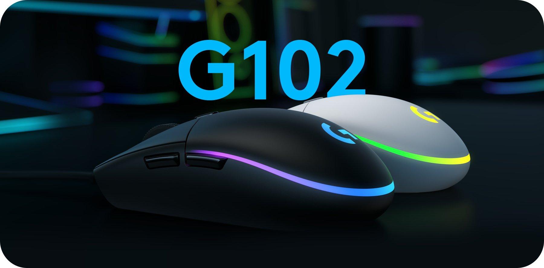 Logitech Gaming Mouse G102 Gen Lightsync Black