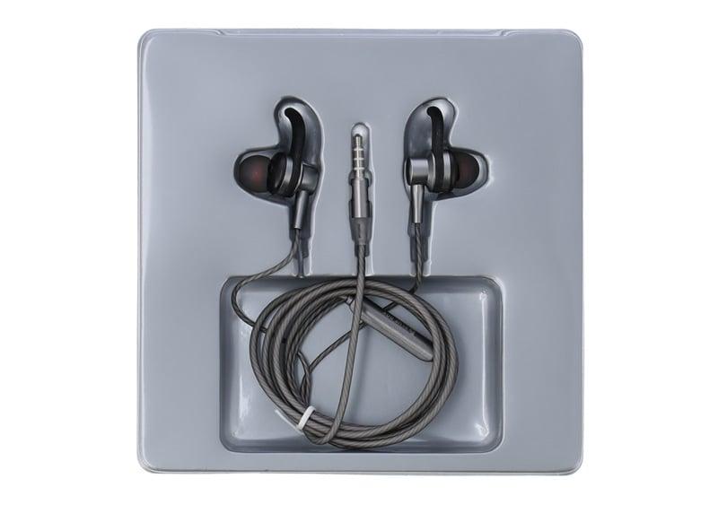 Blue Box In-Ear with Mic. BN-X50 Grey