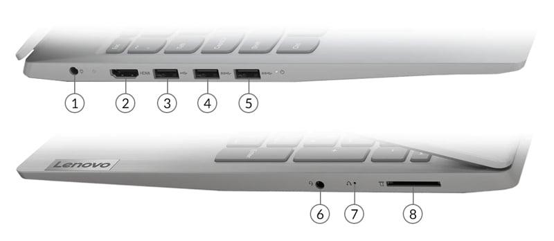 Lenovo Notebook IDEAPAD 3 15IIL05-81WE006MTA Grey