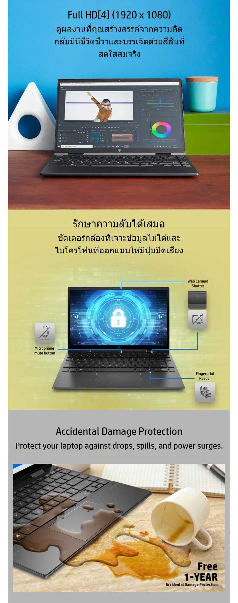 HP Notebook ENVY X360