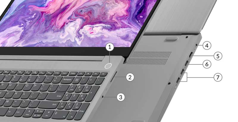 Lenovo Notebook IDEAPAD 3 15ARE05-81W400AGTA Grey (A)
