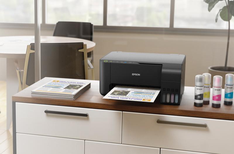 Epson Inkjet Printer Tank L3150 (PSCW) Wi-Fi Direct