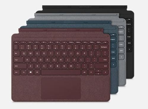 ซื้อ คีย์บอร์ด เซอร์เฟซ Microsoft Tablet Acc Type Cover for Surface GO (KCM-00016) Black แป้นพิมพ์ Surface, คีย์บอร์ด เสริม, คีย์บอร์ด พกพา, คีย์บอร์ดเสริมแท็บเล็ต ราคา, ราคาพิเศษ พร้อมโปรโมชั่นลดราคา ส่งฟรี ส่งเร็ว ทั่วไทย