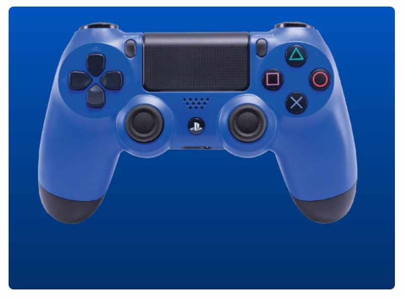 Sony Playstation 4 Dual Shock 4 Controller CUH-ZCT2G 22 Midnight Blue