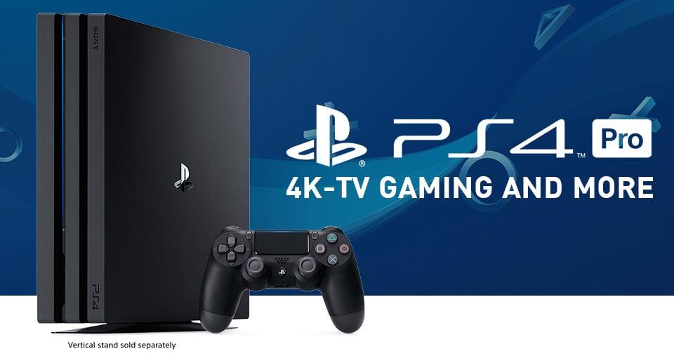 Sony PlayStation Pro 2TB Gamma Black