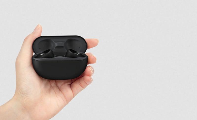 Sony Headphone with Mic. Wireless TWS WF-SP800N