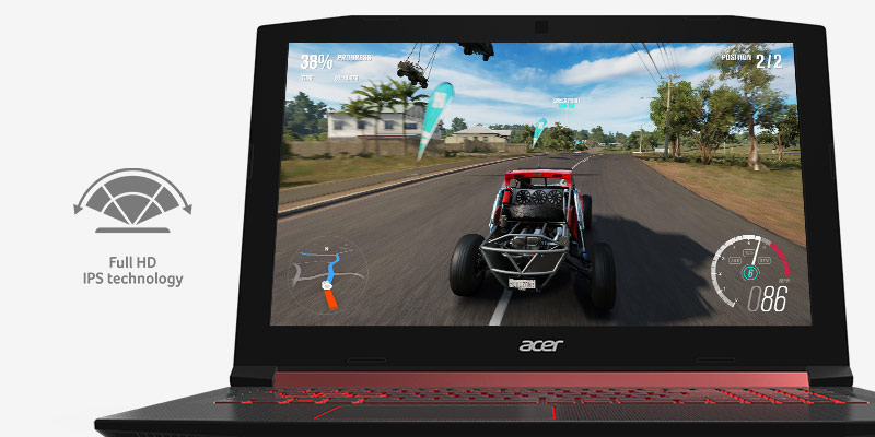 Acer Notebook NITRO AN515-52-53TU Black