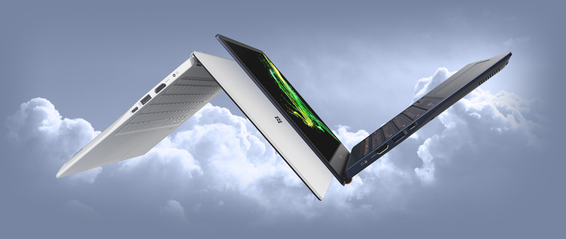 Acer SWIFT SF514-54T-58K3 White