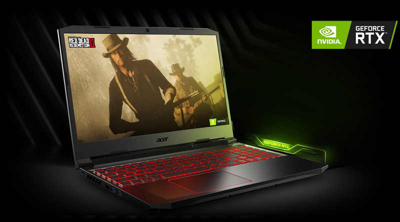 Acer Notebook NITRO AN515-55-77UK Black