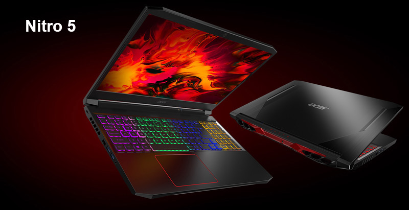 Acer Notebook Nitro AN515-55-551K Black