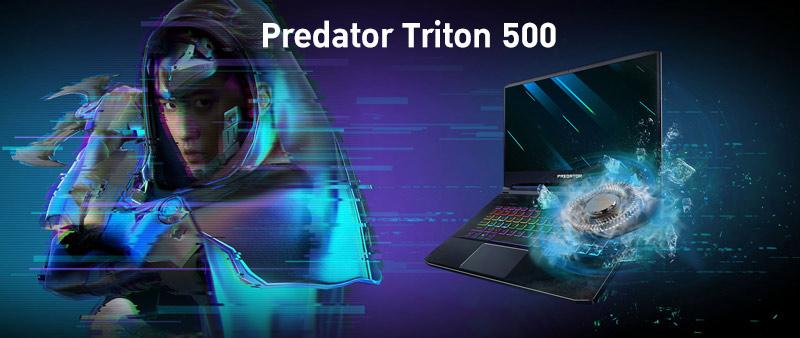Acer Notebook PREDATOR PT515-52-70RD Black