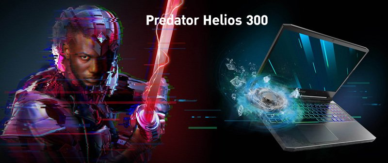 Acer Notebook Predator PH315-53-79SU_Black