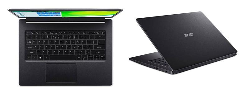Acer Notebook Aspire A314-22-R8LV_Black (A)