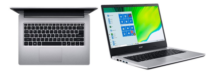Acer Notebook Aspire A314-22-R6F4_Silver (A)
