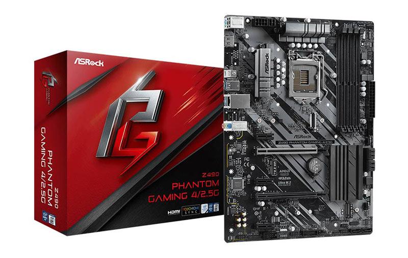 AsRock Mainboard Z490 Phantom Gaming 4 LGA 1200