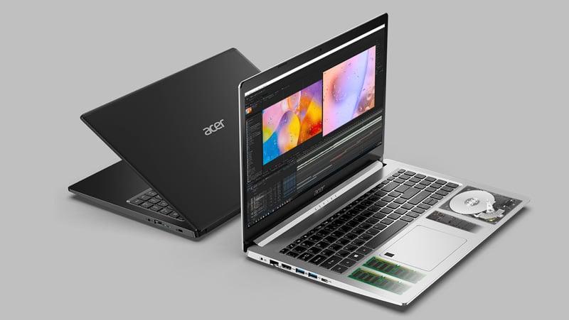 Acer Notebook Aspire A515-44G-R3HD_Black