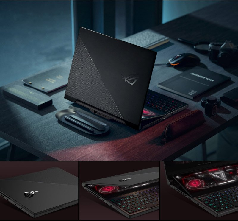 Asus Notebook ROG ZEPHYRUS DUO 15 SE GX551