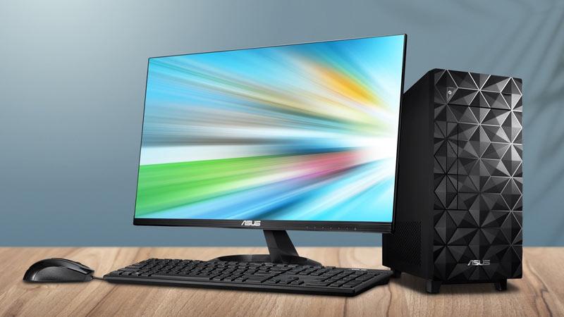 คอมพิวเตอร์เดสก์ท็อป ASUS DESKTOP TW ASU-PF02F2-M03330 U500MA