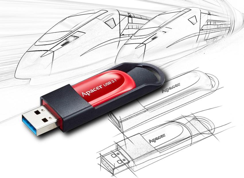Apacer USB Drive 3.1 AH25A