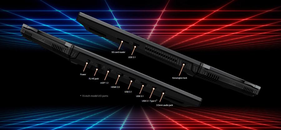 Asus Notebook ROG Strix GL504GW-ES011T