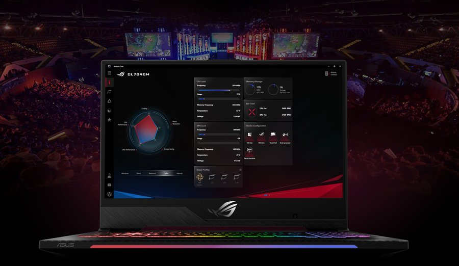 Asus Notebook ROG Strix GL504GV-ES036T