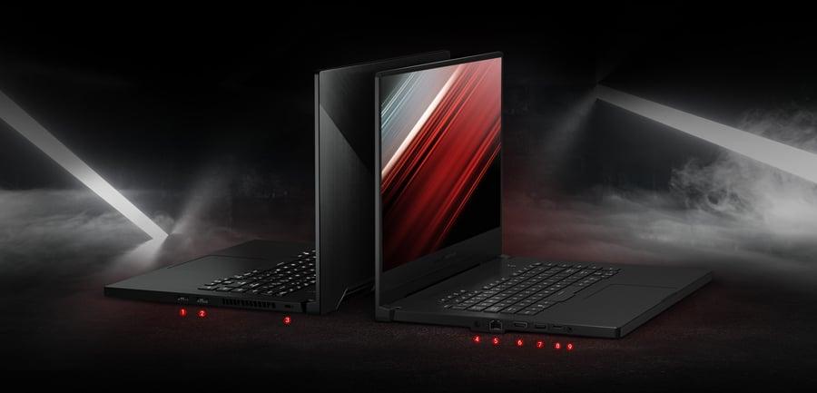 Asus Notebook ROG Zephyrus G GA502DU-AZ051T Black