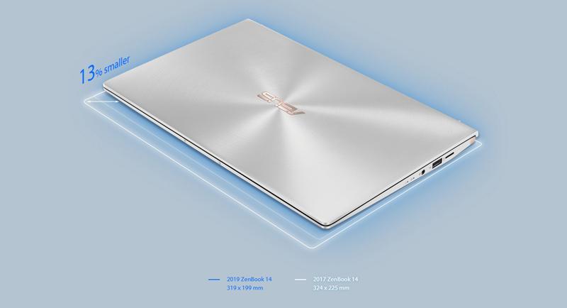 Asus Notebook ZenBook UM433DA-A5029T Silver