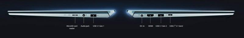 Asus Notebook ZenBook Duo UX481FL-HJ113T Celestial Blue