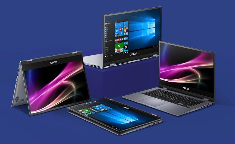 Asus Notebook VivoBook Flip 14 TP412FA-EC491T Blue