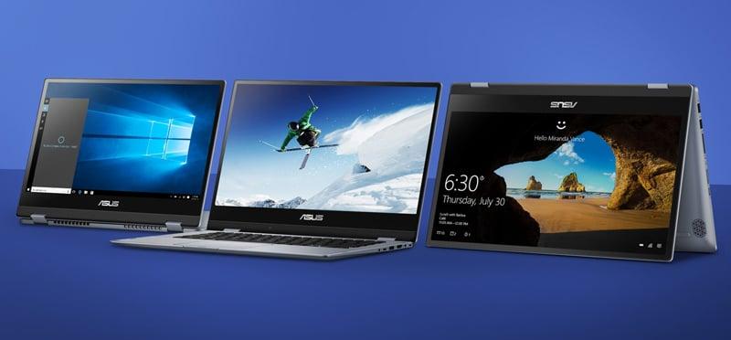 Asus Notebook VivoBook Flip 14 TP412FA-EC496T Blue