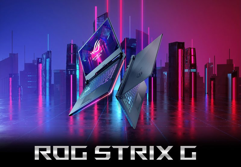 Asus Notebook ROG Strix G G731GT-H7147T Black