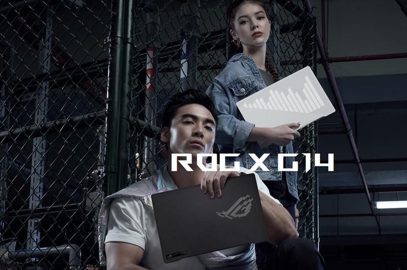 Asus Notebook ROG Zephyrus G14 GA401II-HE105T White
