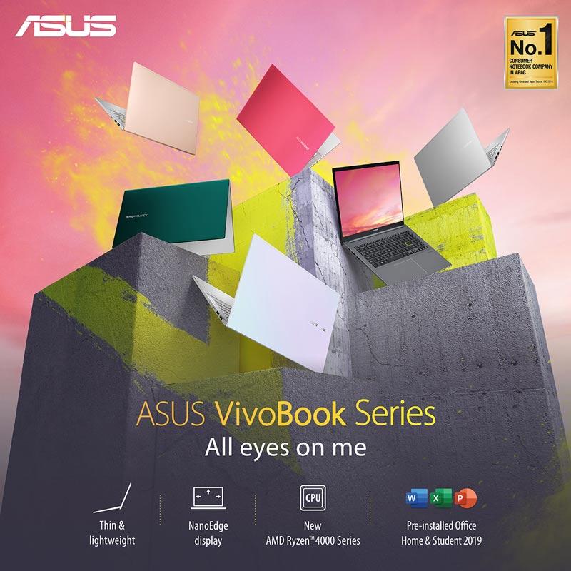 Asus Notebook VivoBook D433IA-EB034TS Black (A)