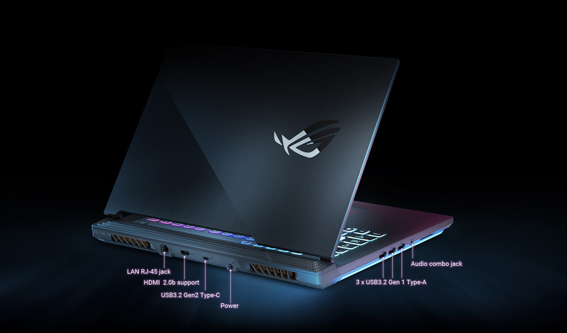 Asus Notebook ROG Strix G15 GL542LV-HN102T Black