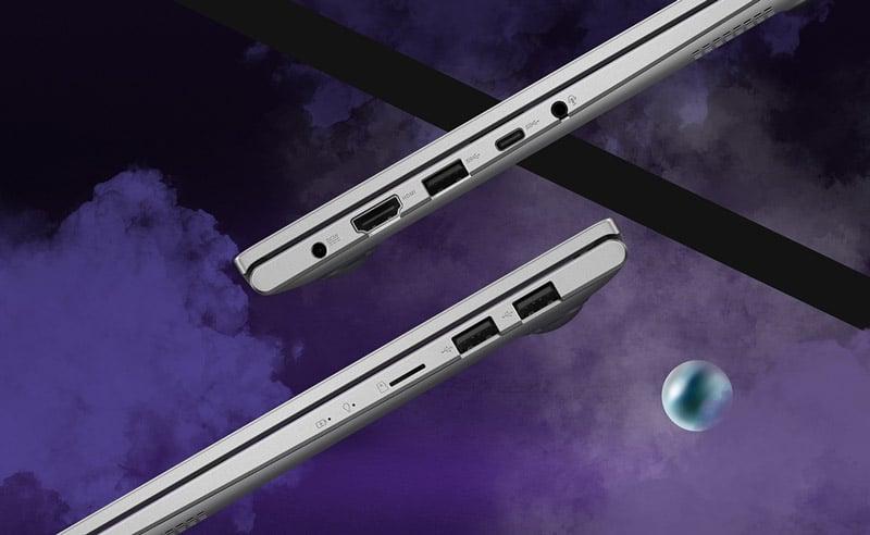 Asus Notebook VivoBook S413FQ-EB046TS Silver