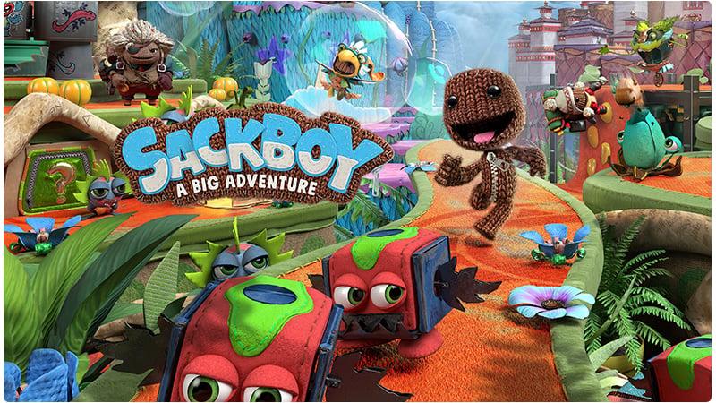 PS5 Sackboy A Big Adventure (EN Ver)