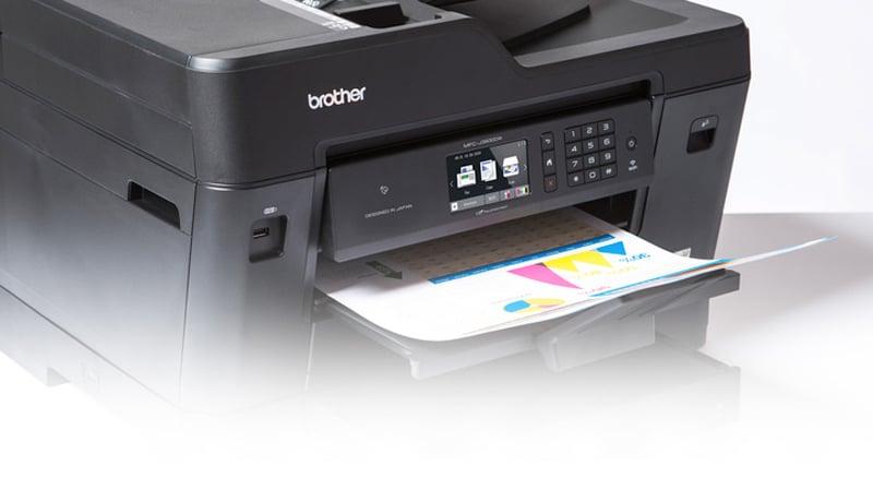 Brother Inkjet Printer MFC-J2730DW Print (A3) CS Fax / Wi-Fi