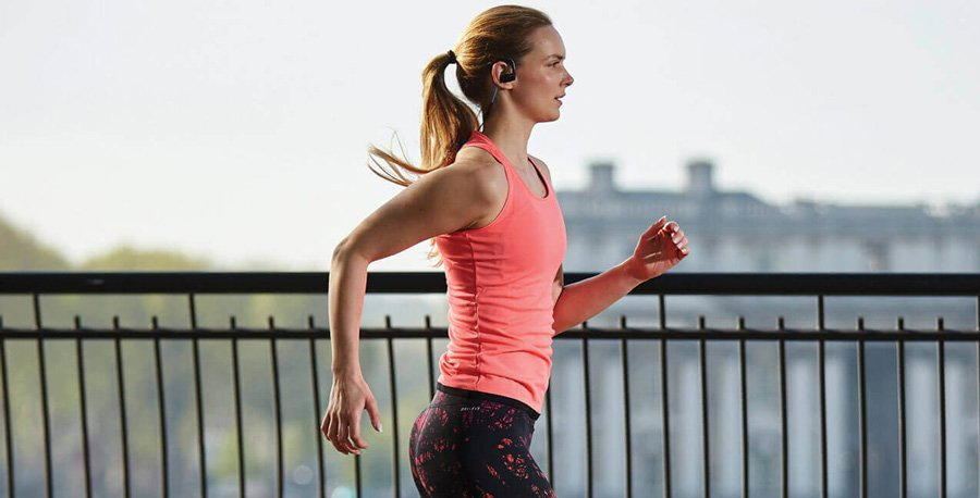 Jabra Bluetooth Headset Sport Pace Wireless Blue