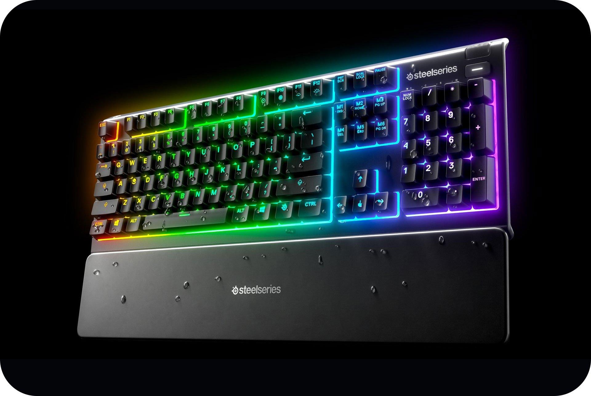 SteelSeries Gaming Keyboard Mechanical Apex 3 TH Black