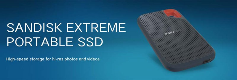 SanDisk SSD Ext Extreme Portable 1TB