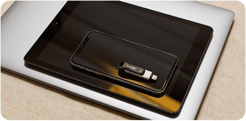 SanDisk iXpand Flash Drive Go 256GB (SDIX60N-256G-GN6NE)