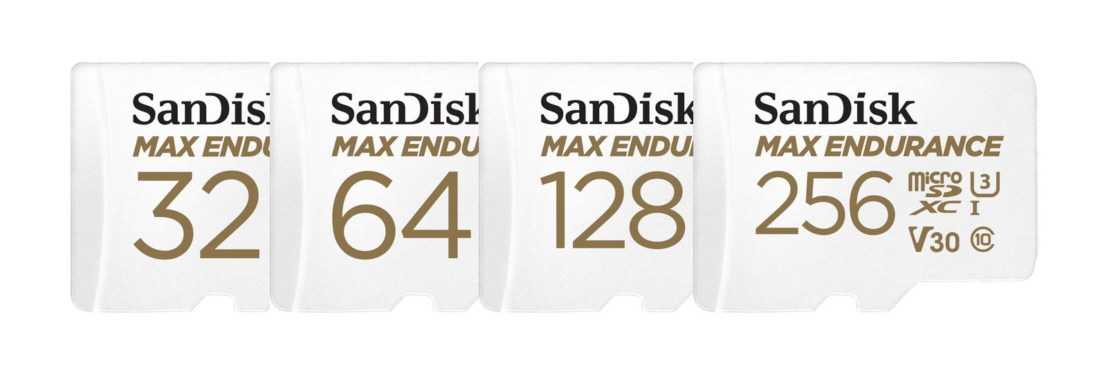 SanDisk MicroSDXC Card MAX ENDURANCE 64GB (SDSQQVR-064G-GN6IA) White