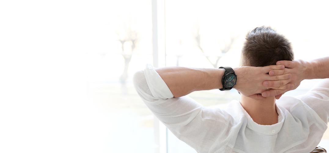 Huawei Smartwatch WATCH GT II 42mm Classic Edition Gravel Beige