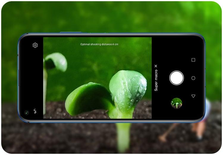 Huawei Smartphone Nova 5T Crush Green