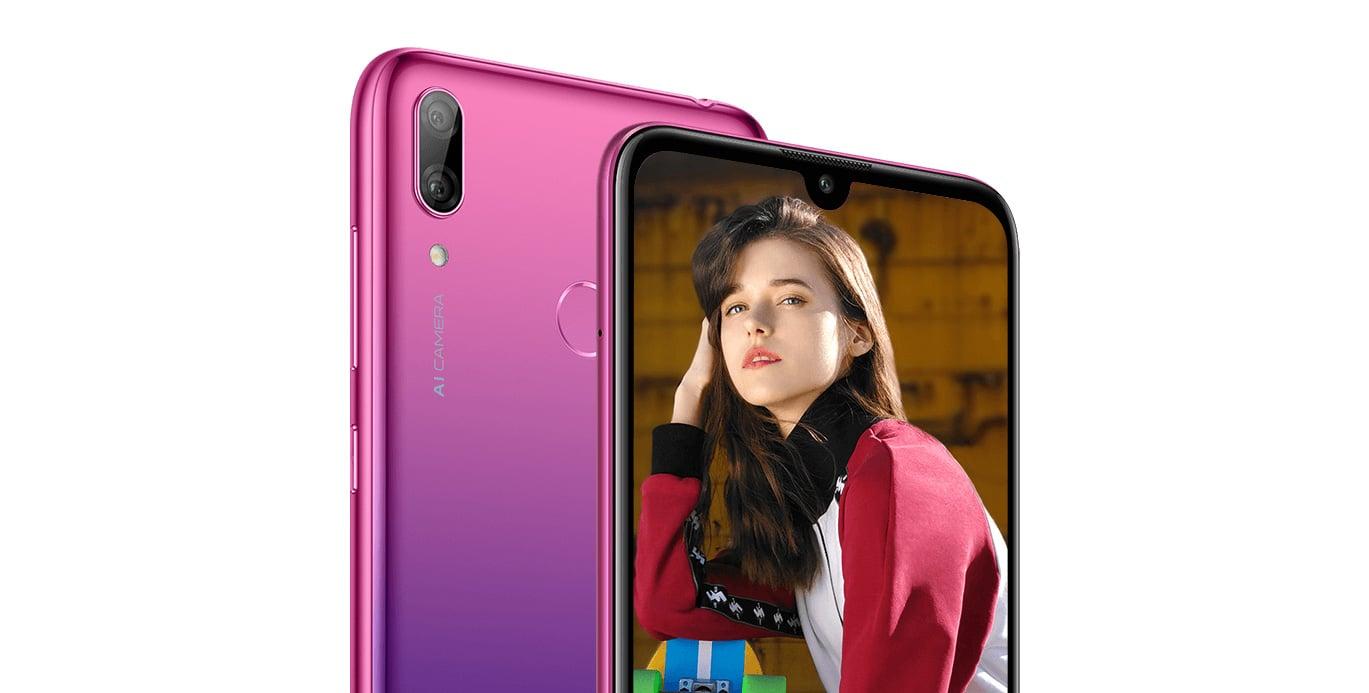 Huawei Smartphone Y7 Midnight Black