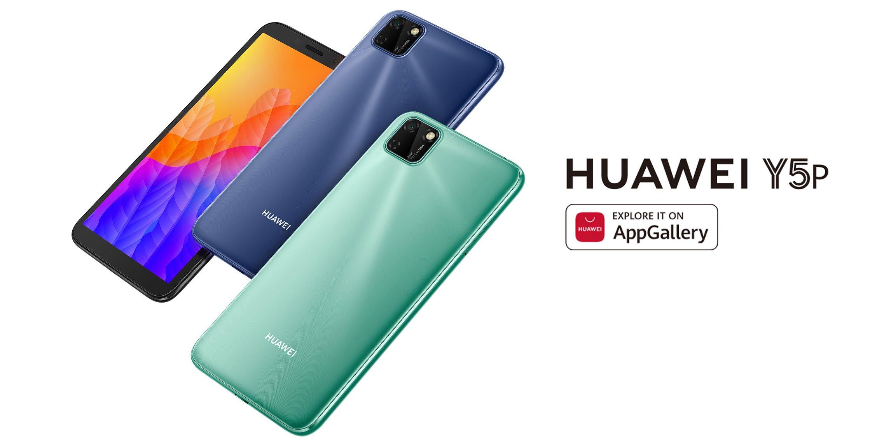 Huawei Smartphone Y5p Mint Green