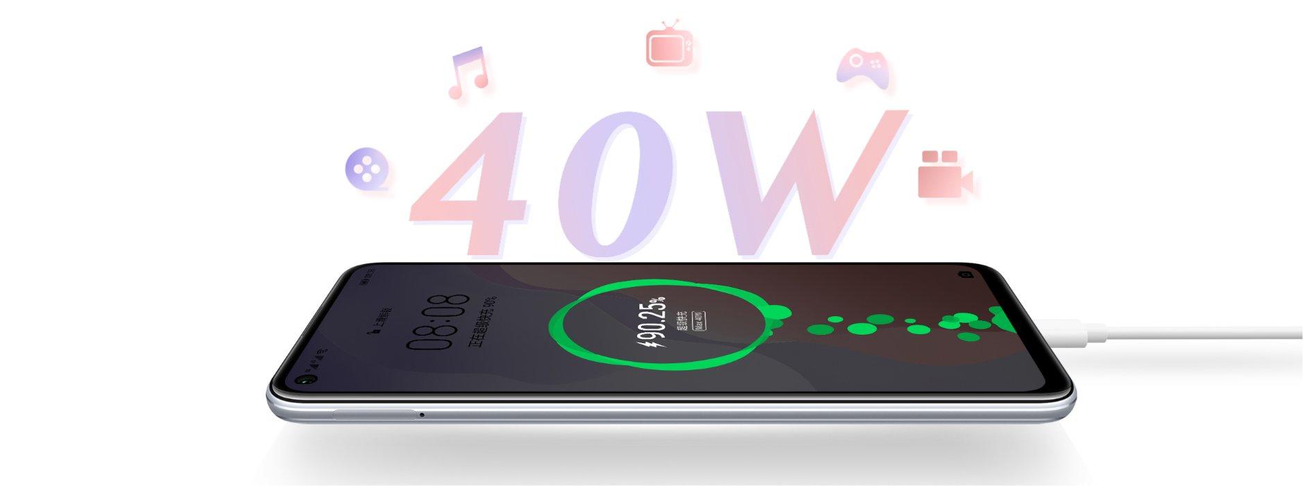 Huawei Smartphone Nova 7SE Space Silver (HMS)