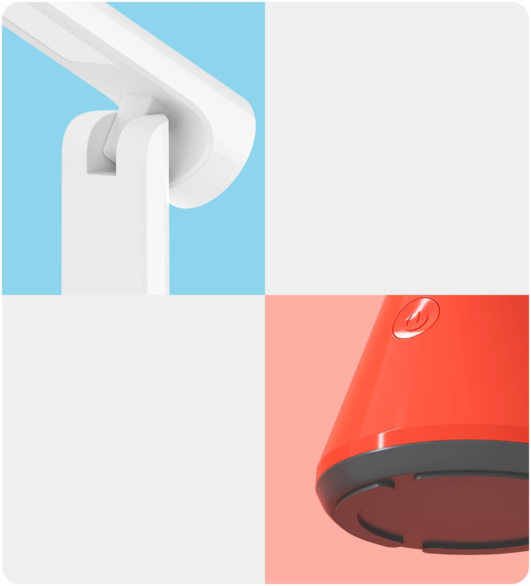 Xiaomi Yeelight Chargeable Folding Table Lamp White