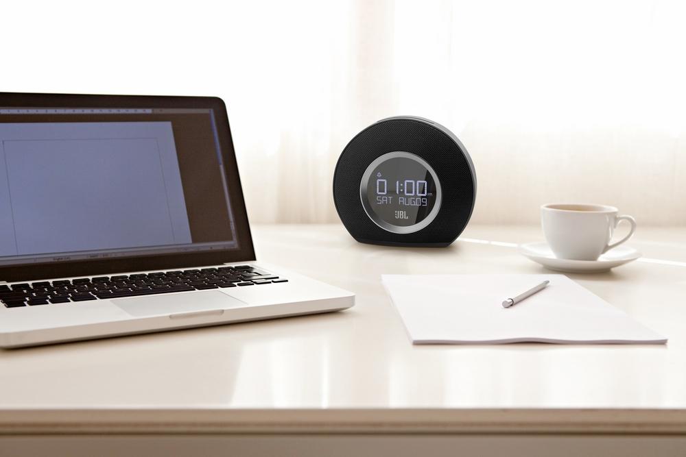 JBL Speaker Bluetooth Horizon with Clock&Radio Black